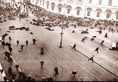 the bloody sunday of the russian revolution essay The massacre on bloody sunday is considered to be the start of the active phase of the revolution of 1905 in addition to beginning the 1905 revolution, historians such as lionel kochan in his book russia in revolution 1890-1918 view the events of bloody sunday to be one of the key events which led to the russian revolution of 1917.