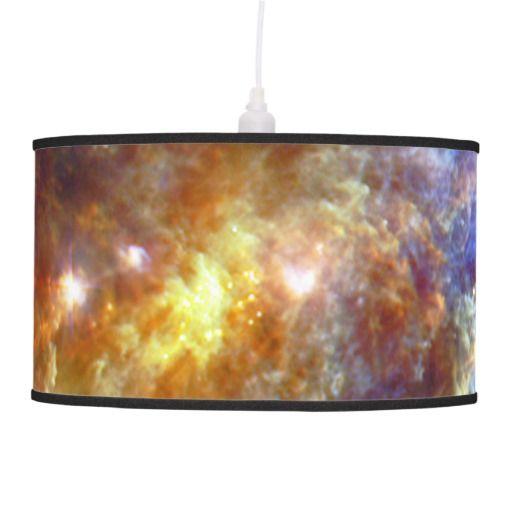 Stellar nursery in Unicorn Constellation lamp