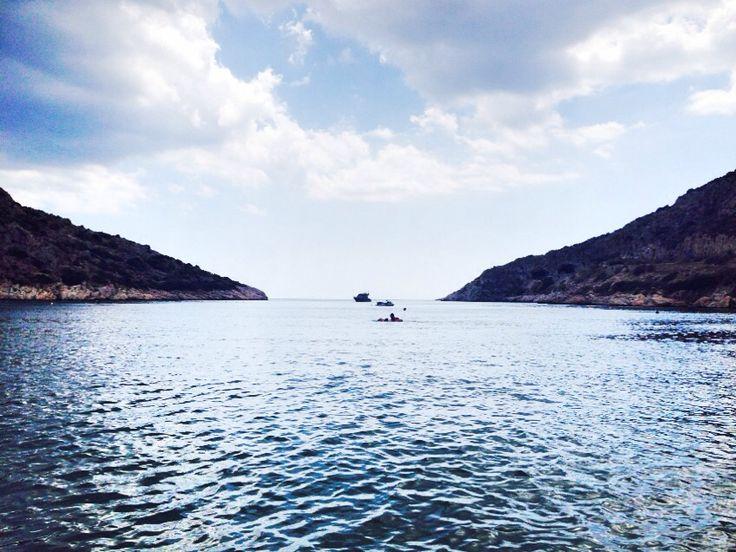 Lagonisi Attiki beach