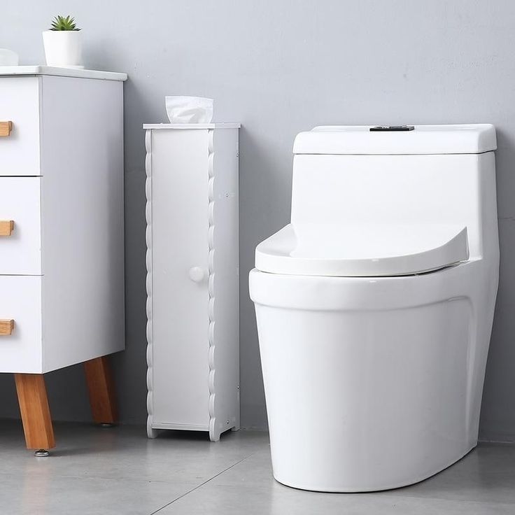 "265"" height paper towel storage narrow cabinet bathroom"
