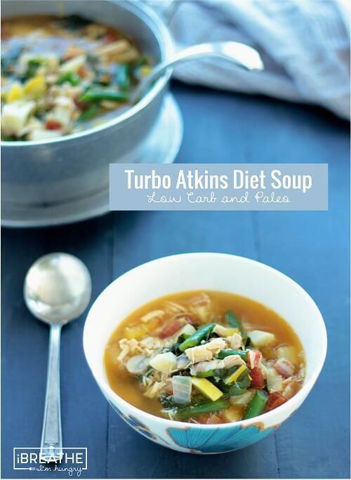 Суп по диете аткинса