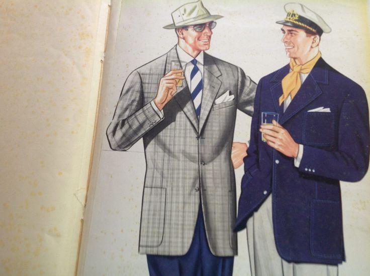 Dal nostro archivio: moda maschile anni '50
