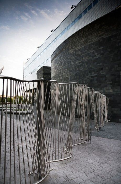 Gates and railings for Northumbria University | David Irwin