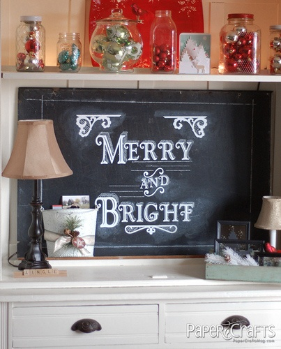 Chalk Lettering Tutorial by Go-to Gal, Betsy Veldman for Paper Crafts magazine