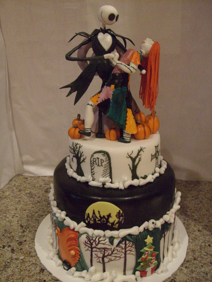 Nightmare Before Christmas Cake Made By Grace G Cakes