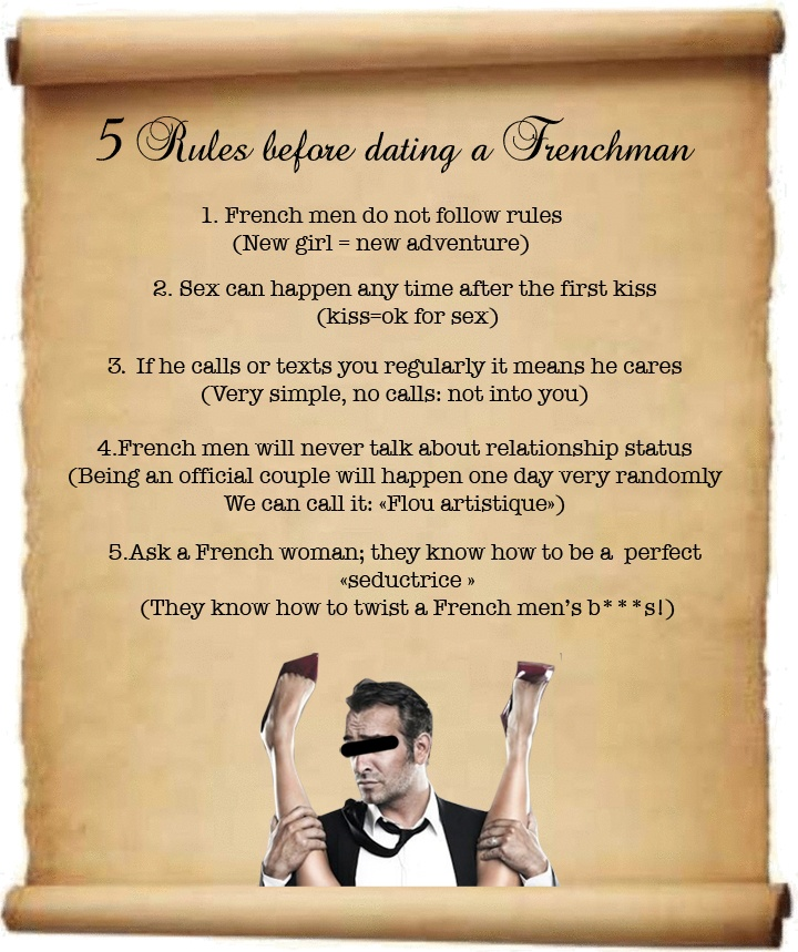 Dating french men rules dating european ladies