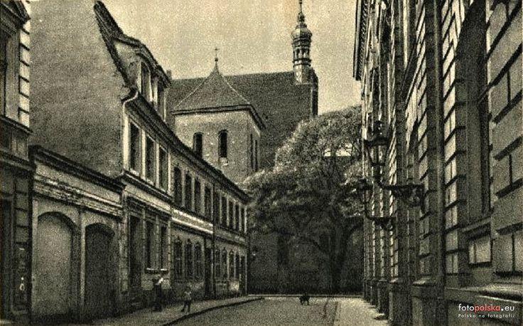 ul. Jezuicka, Bydgoszcz - 1910 rok, stare zdjęcia