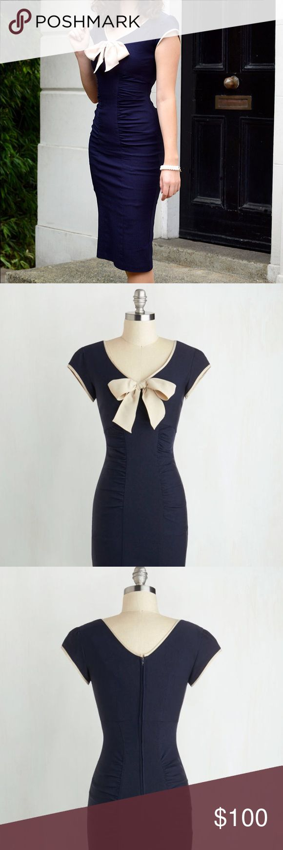 BNWT vintage repro sheath wiggle dress Sold out gorgeous repro wiggle dress inspired by classic silhouettes and constructed from fabulous curve-hugging stretch fabric. So comfortable! Tags still on, no defects or issues. By Stop Staring, purchased from ModCloth. Stop Staring Dresses