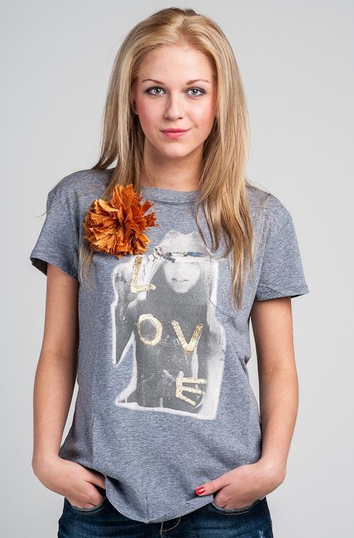 Liu Jo Jeans T-shirt, Grey www.fashionstore.fi