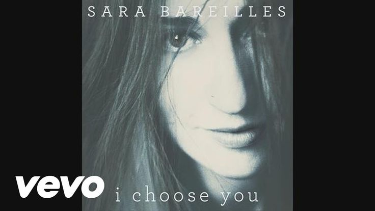 Sara Bareilles - I Choose You (audio) #lovesongs