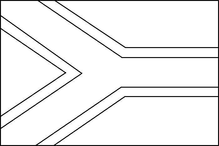 Drapreau : Drapeau de l'Afrique du Sud à colorier : 0