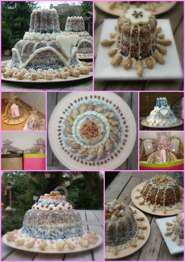 Inspiration: birdfood cakes. From vogeltaart.webklik.nl.