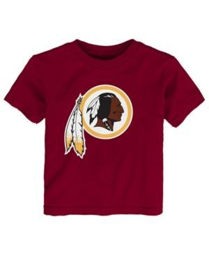 Outerstuff Washington Redskins Primary Logo T-Shirt, Toddler Boys (2T-4T) - Red 3T