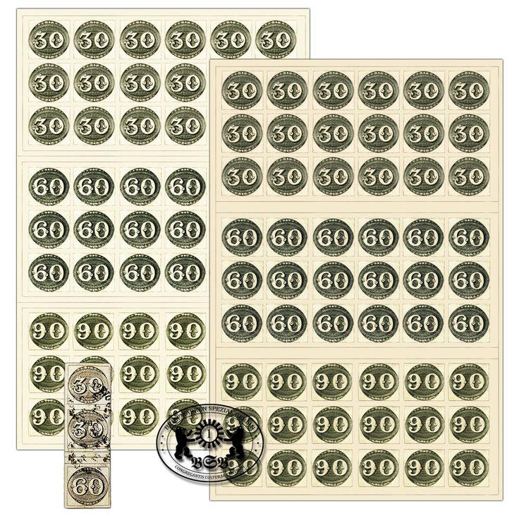 Die brasilianischen Ochsenaugen gehören zu den berühmtesten und eigentümlichsten Briefmarken der südamerikanischen klassischen Philatelie