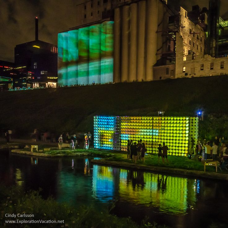 The weather lab at Northern Spark in Minneapolis - http://explorationvacation.net/2016/06/lighting-up-northern-spark-minneapolis/
