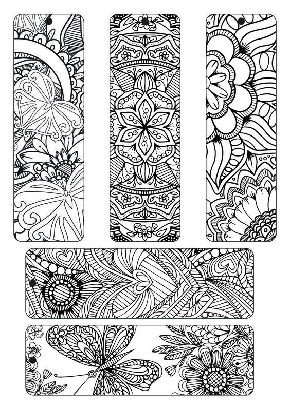 71 best coloring bookmarks, postcards ............. images on ...