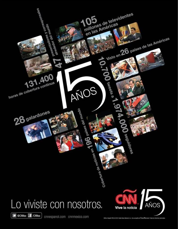 CNN en Español - 15 Years