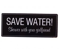 Decoratiune de perete Save Water