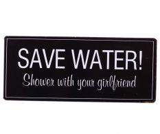 Decoratiune de perete Save Water