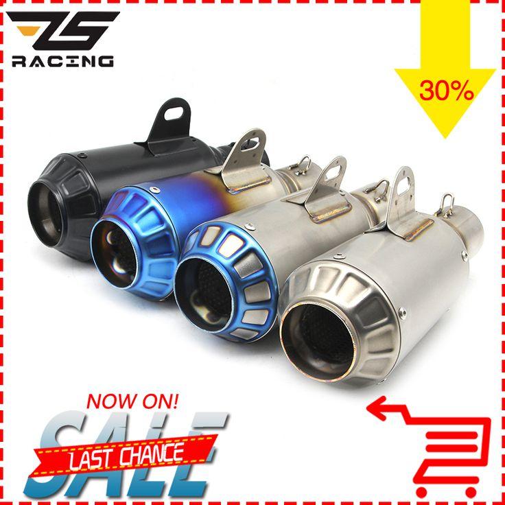 Get Best Price ZS Racing Yoshimura Titanium Motorcycle GP-Force Dirt Bike Exhaust Pipe Akrapovic Muffler Silencieux Moto Escape Aventura #Racing #Yoshimura #Titanium #Motorcycle #GP-Force #Dirt #Bike #Exhaust #Pipe #Akrapovic #Muffler #Silencieux #Moto #Escape #Aventura