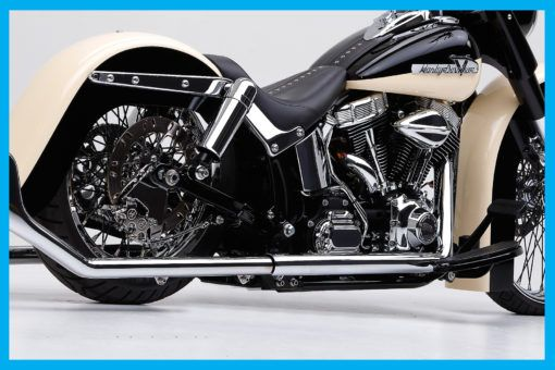 Harley - Softail FL Style Swing Arm 2001 To 2017 - John Shope's Dirty Bird Concepts - Custom Bagger Parts