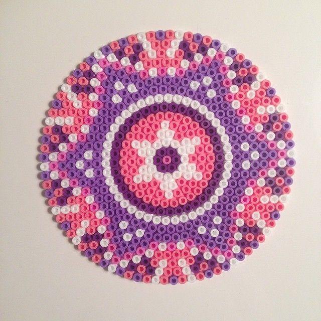 Mandala hama perler beads by bingstrom
