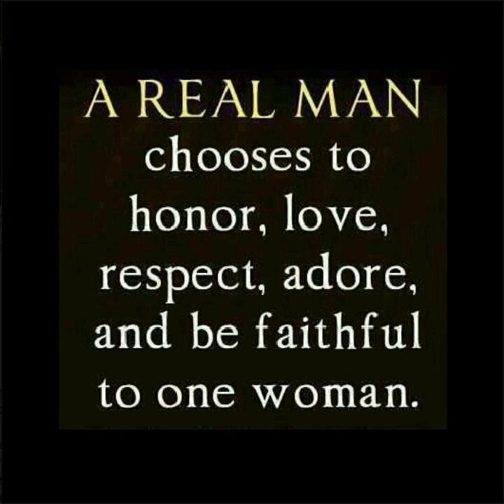 Real man!!!