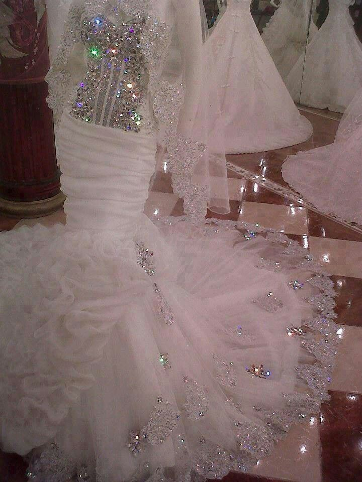 36 best my big fat gypsy wedding images on pinterest for Big bling wedding dresses