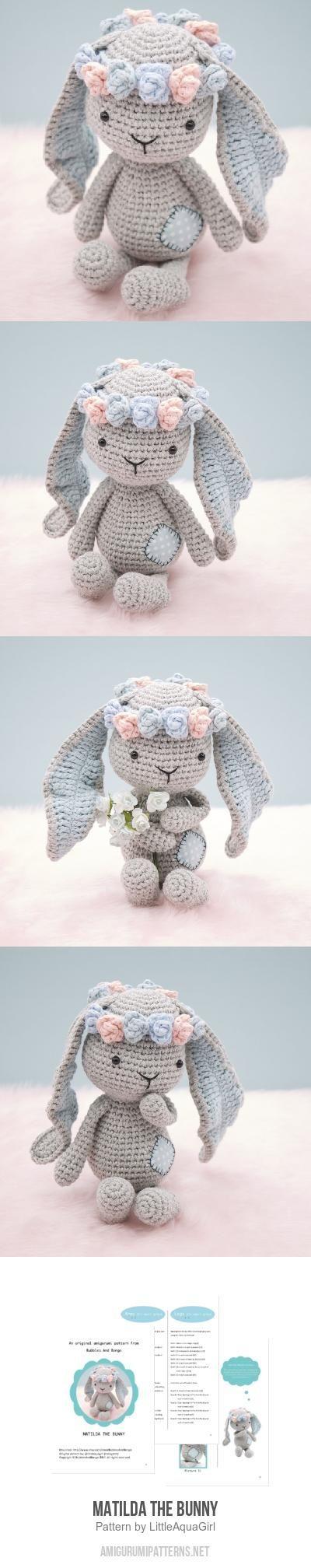 Matilda The Bunny Amigurumi Pattern