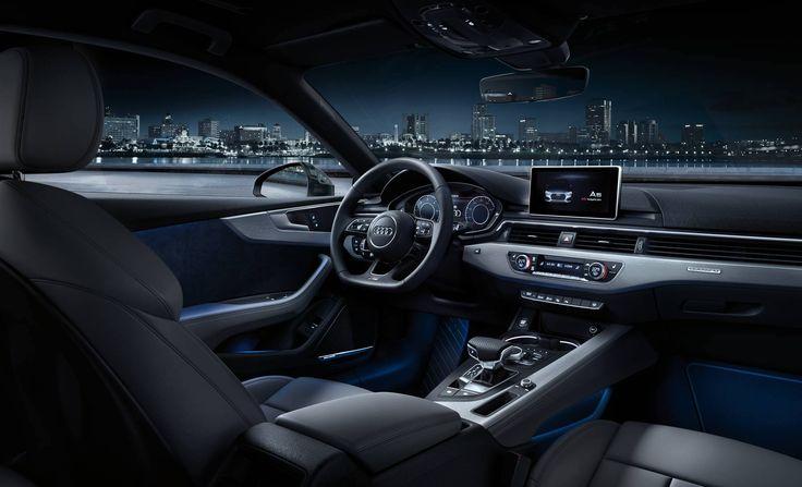 The new 2017 Audi A5 Coupé