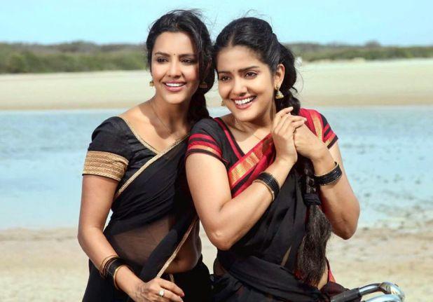 Priya Anand Hot Navel In Oru Oorla Rendu Raja Photos