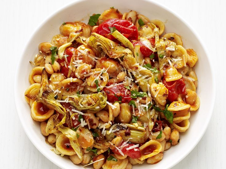 Get this all-star, easy-to-follow Orecciette with Arichokes recipe from Food Network Kitchen