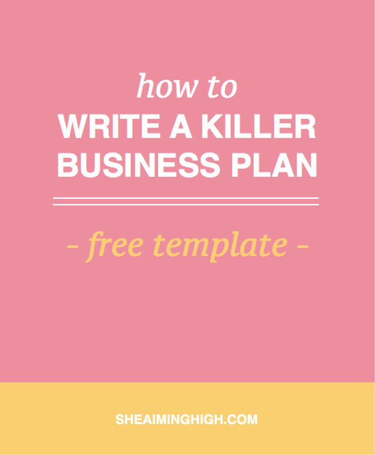Learn How To Write A Killer Business Plan That Will Make Your Business Stand Out | Click through to get advice on how to start your own business and create a rock-solid business plan, that will help you with email marketing, attract more clients, grow your income and create a exclusive brand experience. Use my free business plan template to get started.