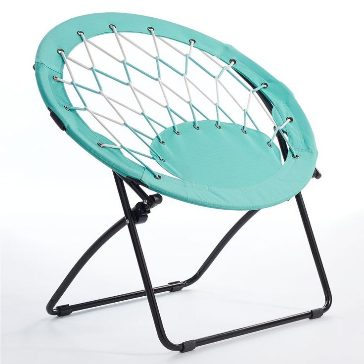 Simple By Design Circle Bungee Chair, Brt Blue