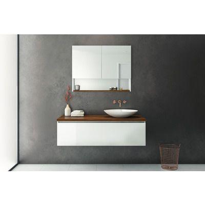 Platinum 1200 Sng Drw W/H Timber Top