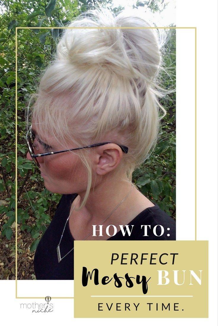 how to do a perfect dance bun