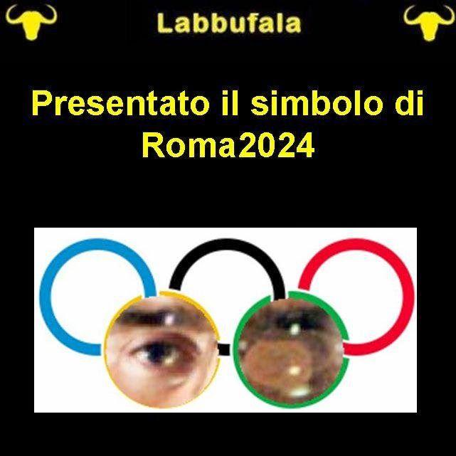 Nuovo simbolo Olimpico  per @labbufala