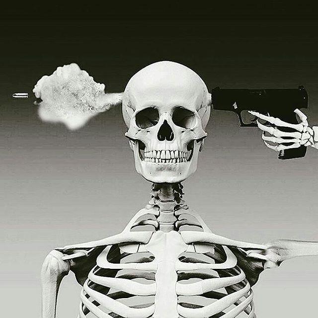By @skullbali -  Some Weeks Are Better Than Others.- ☠ . . . #skullshop #skullbali #skeleton #skull #skulls #goodvibes #lol #mood #instamood #week #full #fullmoon #marsretrograde #mars #energy #caveira #crane #calavera #caveiras #killer #kill #killyourselves #killyourself #self #care #dramas #explode #gothrough #instaskull #easy