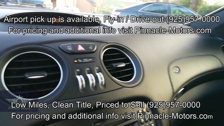 ▶️On Sale Now 2009 Mercedes-Benz SL63 AMG w/ LOW MILES + Great Condition...