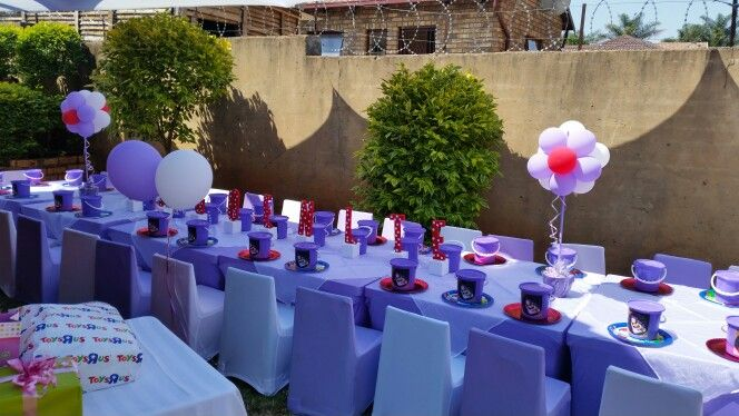 Kagoentle's 1st birthday party