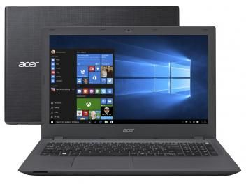 "Notebook Acer Aspire E5 Intel Core i3 6º Geração - 4GB 500GB LED 15,6"" Windows 10 Professional"