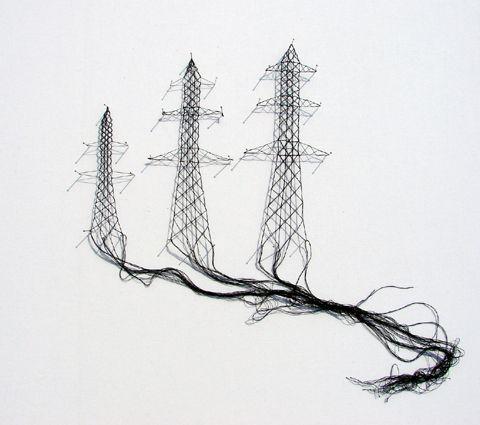 Artist, Elodie Antoine, Lace work