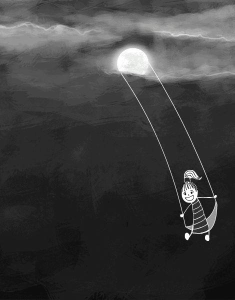 GIF: Solsticio de Invierno y luna llena, Argentina (21.06.2016)