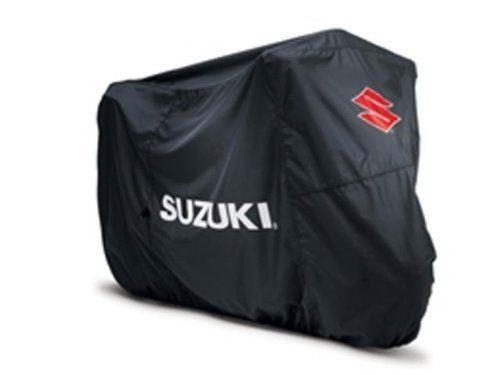 Suzuki Motorcycle Cover Sport Black w/ Suzuki Logos 990A0-66004