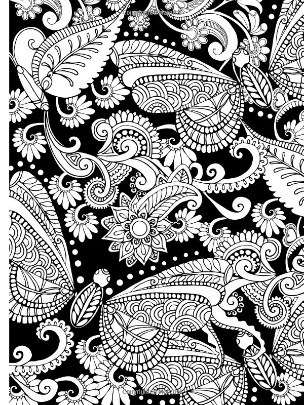 Creative Colouring Patterns : Dover coloring on publications dovers