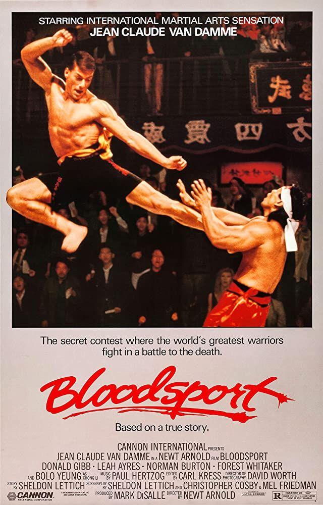 Bloodsport Posters Peliculas Películas Completas Peliculas