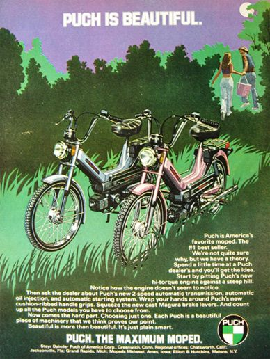 puch moped ads - Google Search