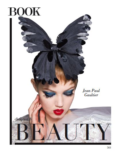From our BEAUTY chapter. Cover page. #beauty #butterfly #fashion #style #jeanpaulgaultier @Jean Paul Gaultier
