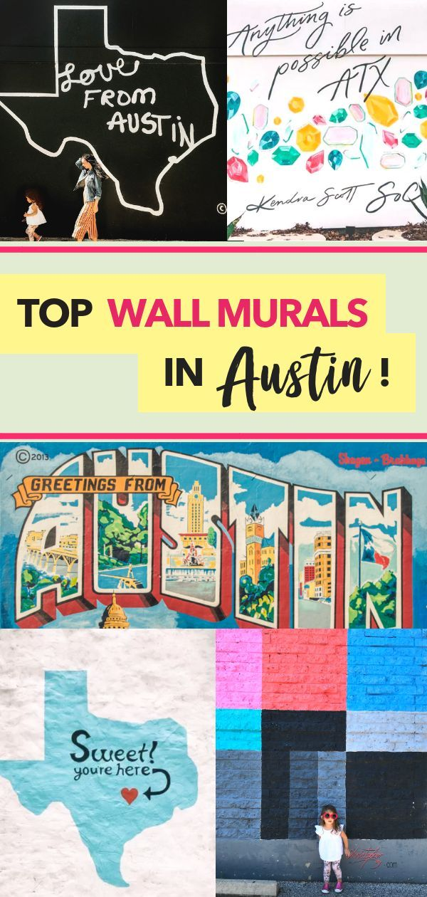 Austin Tx Wall Murals Galore Best Instagram Spots Austin Murals Texas Adventure Austin Art