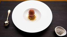 Verjus in Egg by Heston Blumenthal for Masterchef Australia 2016 Finale.  MC